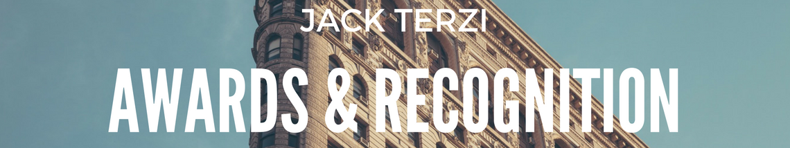 Jack Terzi Awards Recognition